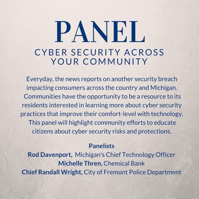 Cyber panel at MI broadband