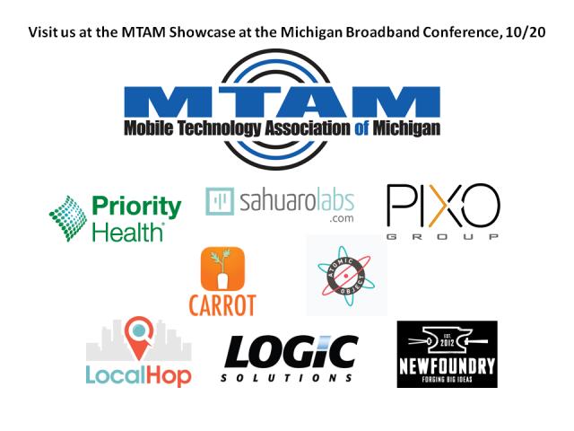 Showcase participant logos